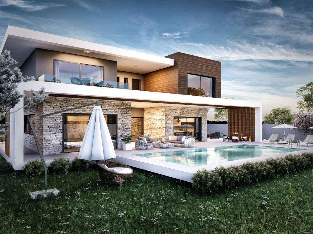G zelbah e villa mimari vero concept mimarl k for Concept villa