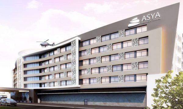 Asya Pamukçu Termal Otel Mimari - Balıkesir
