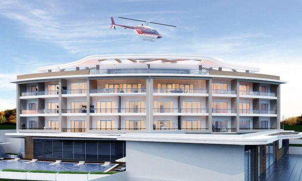 Çeşme Reisdere Otel Mimari - İzmir