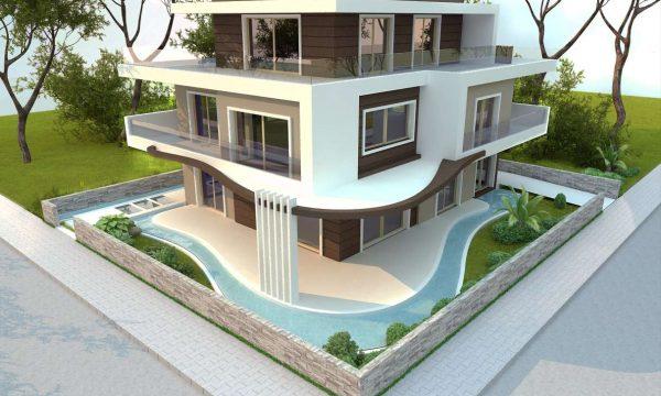 İpek Gürel Villa Mimari - İzmir